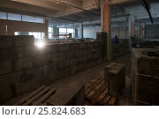 View of a premise being repaired. Стоковое фото, фотограф Гурьянов Андрей / Фотобанк Лори