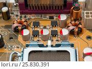 Купить «Electronic collection - Multiphase power system modern processor», фото № 25830391, снято 24 июля 2010 г. (c) Денис Дряшкин / Фотобанк Лори