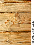 Фрагмент стены из бруса. Стоковое фото, фотограф Юлия Мальцева / Фотобанк Лори