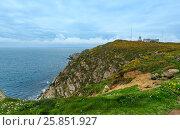Купить «Estaca de Bares Lighthouse (Spain).», фото № 25851927, снято 12 мая 2016 г. (c) Юрий Брыкайло / Фотобанк Лори