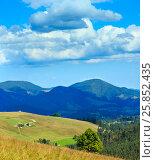 Купить «Summer Carpathian Mountains.», фото № 25852435, снято 27 марта 2019 г. (c) Юрий Брыкайло / Фотобанк Лори