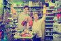 Female shopper with teenage daughter searching for beverages, фото № 25854535, снято 5 января 2017 г. (c) Яков Филимонов / Фотобанк Лори