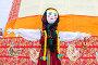 Масленица в России. Большая кукла для сжигания на традиционном карнавале, фото № 25860207, снято 26 февраля 2017 г. (c) FotograFF / Фотобанк Лори