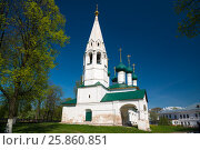 Купить «The Nikola Rubleny Church in Yaroslavl. Golden Ring of Russia», фото № 25860851, снято 8 мая 2016 г. (c) Юрий Дмитриенко / Фотобанк Лори