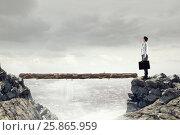 Купить «Overcome fear of failure . Mixed media . Mixed media», фото № 25865959, снято 24 февраля 2011 г. (c) Sergey Nivens / Фотобанк Лори