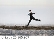 Купить «Overcome fear of failure . Mixed media . Mixed media», фото № 25865967, снято 24 февраля 2011 г. (c) Sergey Nivens / Фотобанк Лори