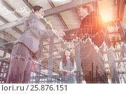 Купить «Composite image of stocks and shares», фото № 25876151, снято 17 июля 2018 г. (c) Wavebreak Media / Фотобанк Лори