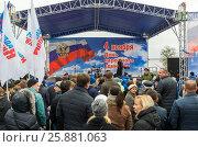 Купить «Концерт во время празднования Дня народного единства в Волгограде», фото № 25881063, снято 4 ноября 2016 г. (c) Володина Ольга / Фотобанк Лори