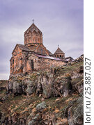 Hovhannavank is a medieval monastery.  Armenia. (2017 год). Стоковое фото, фотограф Nunik Varderesyan / Фотобанк Лори