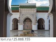 Qarawiyyn mosque, Fes, Morocco. (2016 год). Редакционное фото, фотограф Ivan Vdovin / age Fotostock / Фотобанк Лори