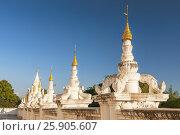 Купить «Atumashi Kyaung Monastery Maha Atulawaiyan Kyaungdawgyi is a Buddhist monastery located near Shwenandaw Monastery in Mandalay, Mianma», фото № 25905607, снято 24 мая 2018 г. (c) BE&W Photo / Фотобанк Лори