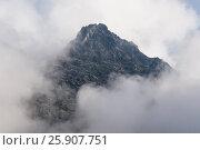 Купить «View from Kasprowy Wierch in High Tatra Mountains, Poland», фото № 25907751, снято 21 октября 2018 г. (c) BE&W Photo / Фотобанк Лори