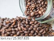 Зёрна кофе. Стоковое фото, фотограф Краснова Ирина / Фотобанк Лори