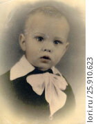 Купить «Портрет 1958 год город Петрозаводск», фото № 25910623, снято 5 апреля 2020 г. (c) Сергей Костин / Фотобанк Лори