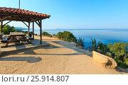 Morning Aegean coast, Sithonia, Greece. Стоковое фото, фотограф Юрий Брыкайло / Фотобанк Лори