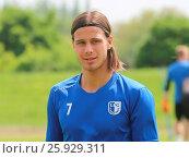 Купить «Tobias Schwede (Testspieler 1.FC Magdeburg) während des Trainings», фото № 25929311, снято 26 марта 2019 г. (c) age Fotostock / Фотобанк Лори
