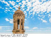 Купить «Башня Храма Святого Сердца», фото № 25937227, снято 15 сентября 2016 г. (c) Александр Овчинников / Фотобанк Лори