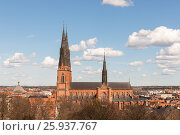 Cathedral in Uppsala (2010 год). Стоковое фото, фотограф Argument / Фотобанк Лори