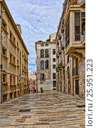 Spain, Tarragon  street (2017 год). Стоковое фото, фотограф Александр Овчинников / Фотобанк Лори