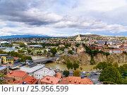 Купить «View of city center Tbilisi. Georgia», фото № 25956599, снято 24 сентября 2016 г. (c) Elena Odareeva / Фотобанк Лори