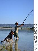 Рыбалка. Стоковое фото, фотограф София Тюленева / Фотобанк Лори