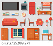 Купить «Home art studio interior for artist», иллюстрация № 25989271 (c) Александр Галата / Фотобанк Лори