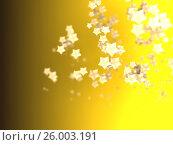 Купить «Shiny Stars Particles on smooth background», иллюстрация № 26003191 (c) Станислав Парамонов / Фотобанк Лори