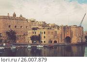 Купить «Senglea. Three cities, Malta», фото № 26007879, снято 15 декабря 2010 г. (c) Яков Филимонов / Фотобанк Лори