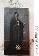 Купить «Икона в храме Богоявления   Санкт-Петербург Двинская улица 2», фото № 26008363, снято 16 апреля 2010 г. (c) Федюнин Александр / Фотобанк Лори
