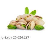 Купить «Pistachios nuts», фото № 26024227, снято 26 августа 2015 г. (c) Кропотов Лев / Фотобанк Лори