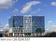 Современное здание. Стоковое фото, фотограф Малахов Алексей / Фотобанк Лори