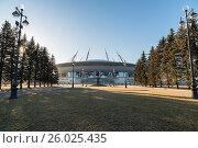 Stadium - St. Petersburg Arena (2017 год). Редакционное фото, фотограф Станислав Сергеев / Фотобанк Лори