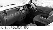 Купить «Салон автомобиля Honda Stepwgn», фото № 26034895, снято 29 марта 2017 г. (c) Chere / Фотобанк Лори