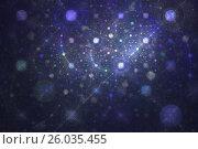Фона с планетами и звездами вселенной. Стоковая иллюстрация, иллюстратор Дмитрий Тищенко / Фотобанк Лори