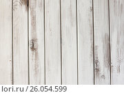 Белый деревянный фон. Стоковое фото, фотограф Галина Жигалова / Фотобанк Лори