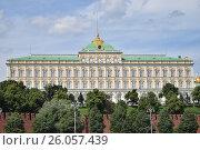 Москва. Большой Кремлевский дворец (2016 год). Стоковое фото, фотограф Ксения Ларкина / Фотобанк Лори