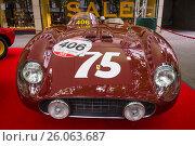 Купить «BERLIN - JUNE 14, 2015: Sports car Ferrari 500 TR, 1956. The Classic Days on Kurfuerstendamm.», фото № 26063687, снято 14 июня 2015 г. (c) Sergey Kohl / Фотобанк Лори