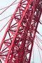 Фрагмент опоры с лестницей Живописного моста в Серебряном бору, фото № 26063987, снято 13 августа 2010 г. (c) Алёшина Оксана / Фотобанк Лори
