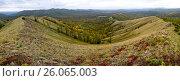 Купить «Уральские холмы», фото № 26065003, снято 20 июня 2019 г. (c) Акиньшин Владимир / Фотобанк Лори