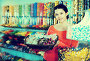 Photo of girl in the shop with lots of sweets, фото № 26077627, снято 22 марта 2017 г. (c) Яков Филимонов / Фотобанк Лори