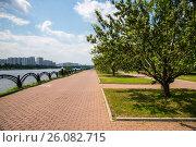 Купить «Парк 850-летия Москвы», фото № 26082715, снято 21 ноября 2018 г. (c) Елена Корнеева / Фотобанк Лори