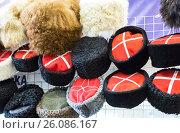 Различные традиционные казацкие шапки, фото № 26086167, снято 26 апреля 2017 г. (c) FotograFF / Фотобанк Лори