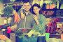 Young couple choosing vegetables in grocery shop, фото № 26096527, снято 18 марта 2017 г. (c) Яков Филимонов / Фотобанк Лори
