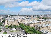 Купить «Париж», фото № 26105623, снято 6 июня 2012 г. (c) Татьяна Савватеева / Фотобанк Лори