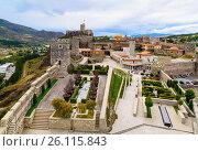 Купить «View of Rabati Castle in Akhaltsikhe, Georgia», фото № 26115843, снято 29 сентября 2016 г. (c) Elena Odareeva / Фотобанк Лори