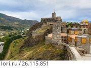 Купить «Rabati Castle in Akhaltsikhe, Georgia», фото № 26115851, снято 29 сентября 2016 г. (c) Elena Odareeva / Фотобанк Лори