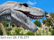 Tyrannosaurus (2017 год). Редакционное фото, фотограф Alexander Tihonovs / Фотобанк Лори