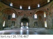 Купить «Inside of Mosque in Rabati Castle in Akhaltsikhe, Georgia», фото № 26116467, снято 29 сентября 2016 г. (c) Elena Odareeva / Фотобанк Лори