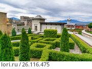 Купить «Rabati Castle in Akhaltsikhe, Georgia», фото № 26116475, снято 29 сентября 2016 г. (c) Elena Odareeva / Фотобанк Лори