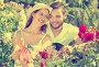 Happy family working in garden, фото № 26119295, снято 30 апреля 2017 г. (c) Яков Филимонов / Фотобанк Лори